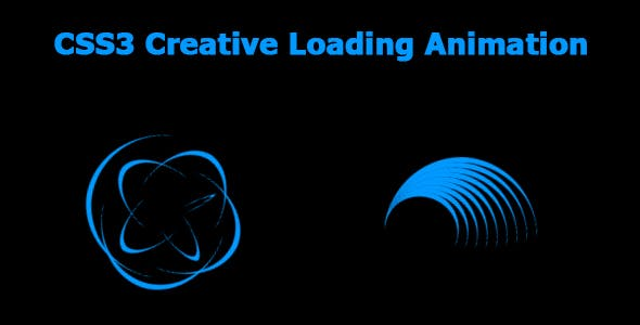CSS3 Creative Loading Animation