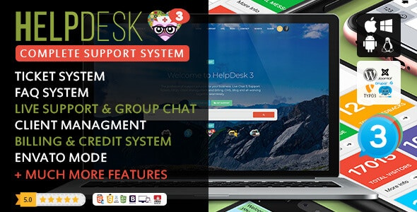 HelpDesk 3 - The professional Support Solution - CodeCanyon Item for Sale