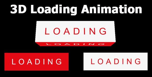 3D Loading Animation