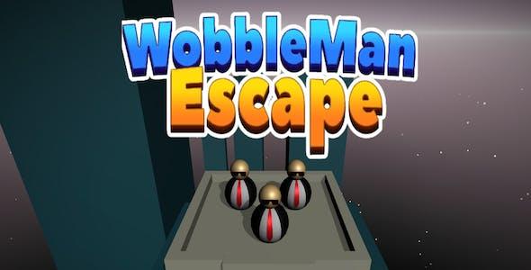 WobbleMan Escape 3D - Complete Unity Game