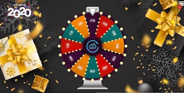 Lucky Wheel 12 - HTML5 Game - CodeCanyon Item for Sale