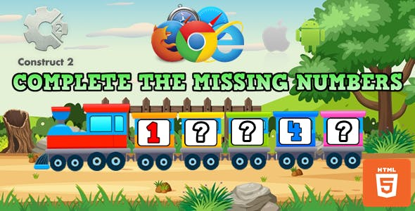 Complete The Missing Numbers - Educational Game (.Capx)
