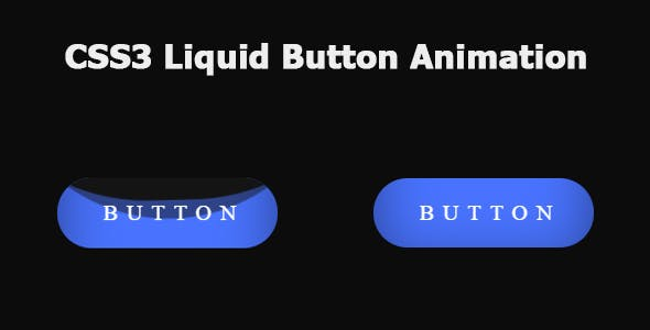 CSS3 Liquid Button Animation