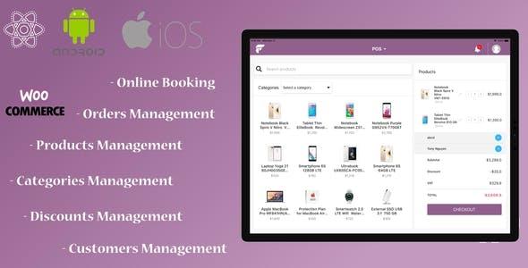 RPOS - React Native WooCommerce POS App