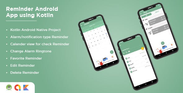 Reminder Android App Using Kotlin Alarm Android App