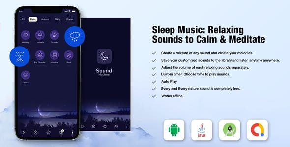Sleep Sounds - Meditation Sounds - Relax Music App