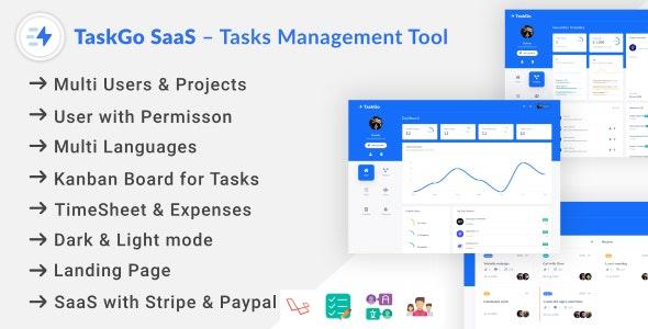 TaskGo SaaS – Tasks Management Tool - CodeCanyon Item for Sale