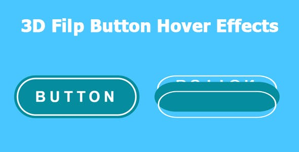 3D Flip Button Hover Effects