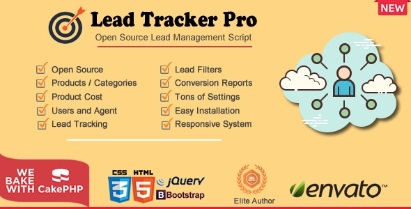 Sales Lead Tracker Pro - CodeCanyon Item for Sale