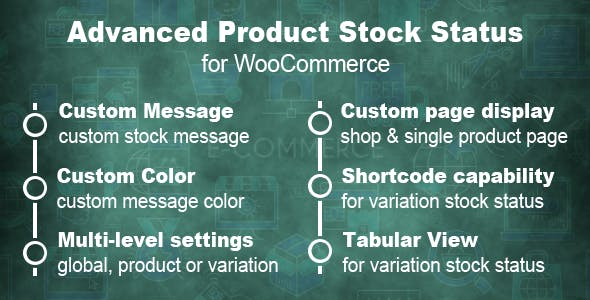 Advanced Product Stock Status For WooCommerce