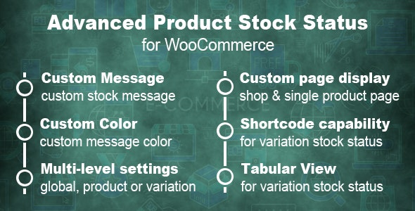 Advanced Product Stock Status For WooCommerce - CodeCanyon Item for Sale