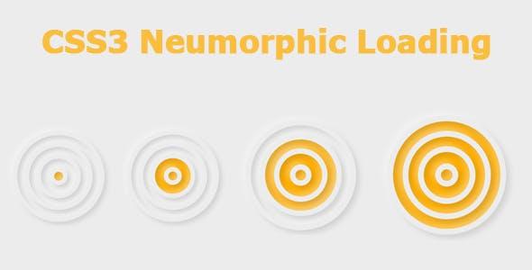 CSS3 Neumorphic Loading