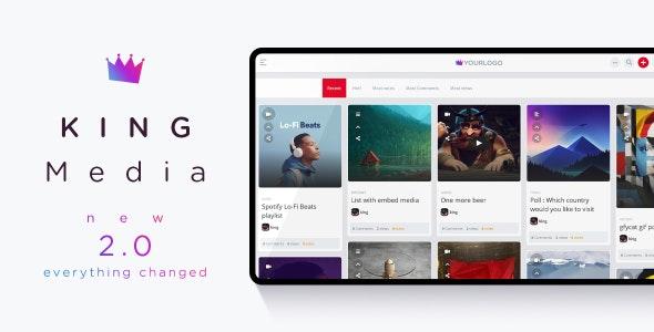 KING Media - Viral News Video Magazine Script - CodeCanyon Item for Sale
