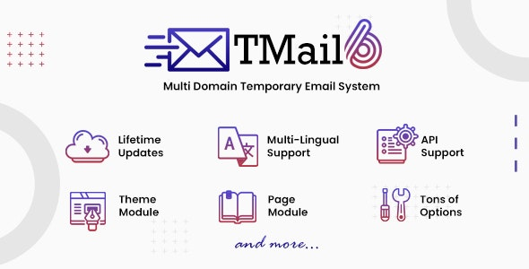 TMail - Multi Domain Temporary Email System - CodeCanyon Item for Sale