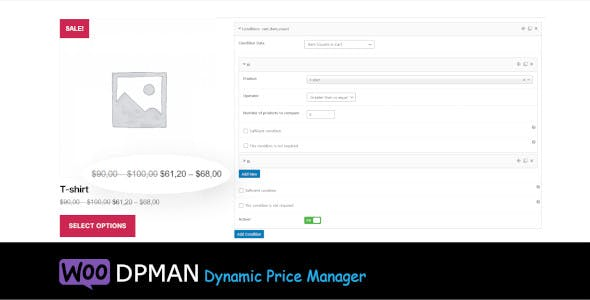 WooCommerce Dynamic Price Manager