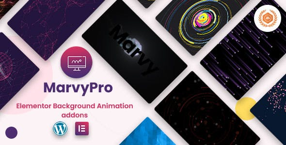 MarvyPro - Background Animations for Elementor