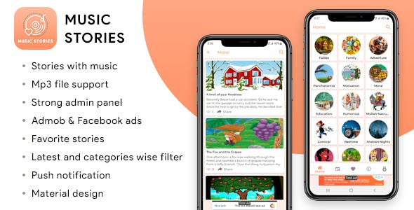 Music Stories Application