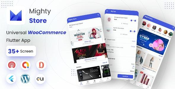 MightyStore Dokan Multi Vendor v5.0 – Flutter E-commerce Full App