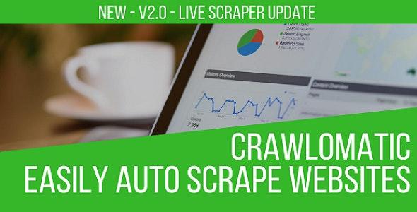Crawlomatic v2.3.9 – Multisite Scraper Post Generator Plugin for WordPress
