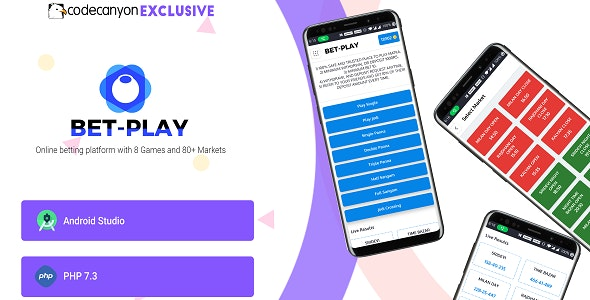 Betplay - Online Matka betting platform with 8 Games and 80+ markets by  codegente