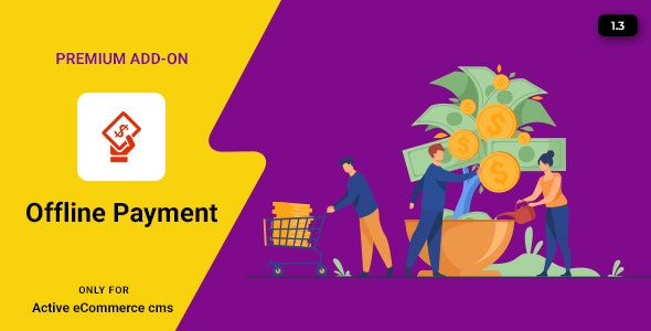 Active eCommerce Offline Payment Add-on - CodeCanyon Item for Sale