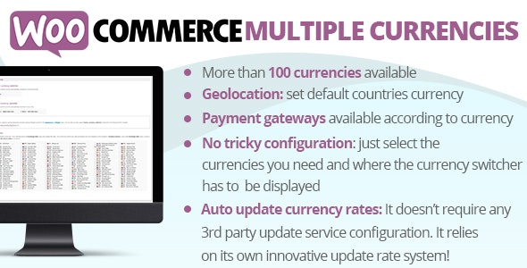 WooCommerce Multiple Currencies v5.2