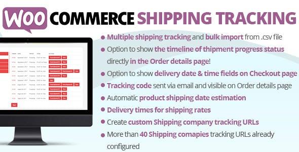 WooCommerce Shipping Tracking
