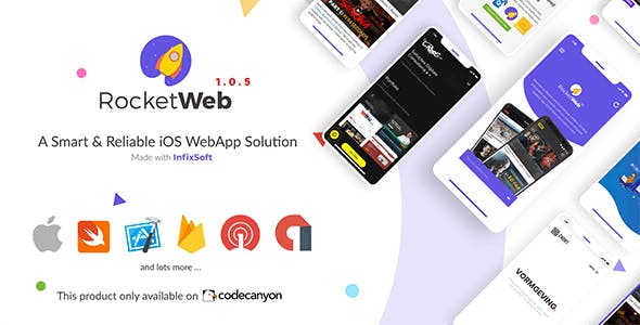 RocketWeb | Configurable iOS WebView App Template