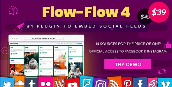 Facebook Instagram Feed — WordPress Facebook Instagram Twitter Social Feed Gallery Plugin - CodeCanyon Item for Sale