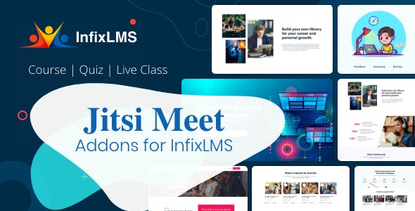 Jitsi Meet - InfixLMS Module