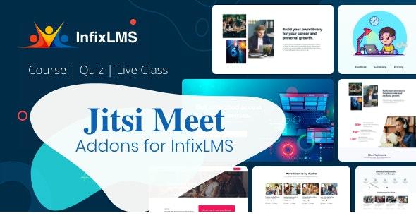 Jitsi Meet - InfixLMS Module - CodeCanyon Item for Sale