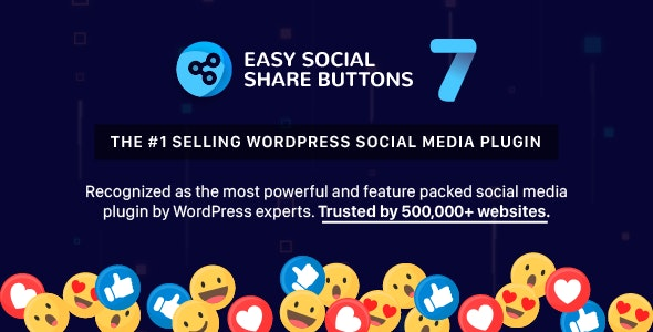 Easy Social Share Buttons for WordPress - CodeCanyon Item for Sale