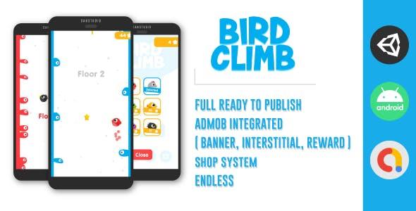 Bird Climb   Fresh Design   Unity   Admob