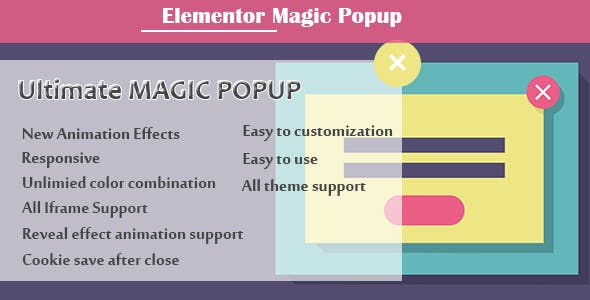 Elementor - Ultimate Magic Popup