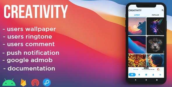 Creativity - wallpaper, ringtone , network