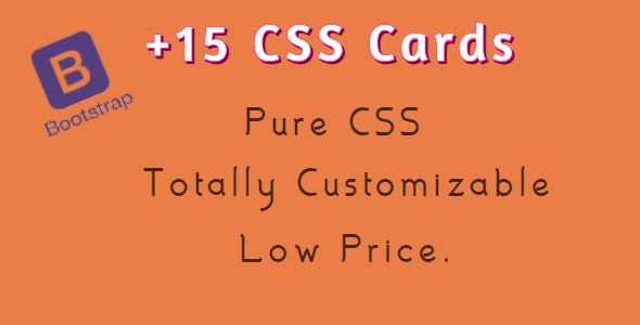+15 2021 Modern CSS Cards based On Bootstrap and amazing effects - CodeCanyon Item for Sale