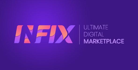 InfixHub v2.3 – Ultimate Digital Marketplace – nulled