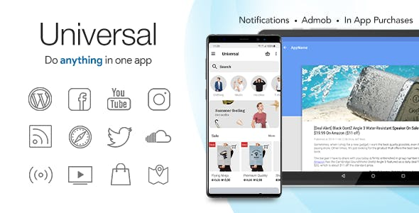 Universal - Full Multi-Purpose Android App