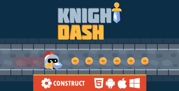Knight Dash - HTML5 Mobile Game