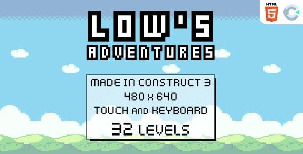 Low's adventures - HTML5 Platform game