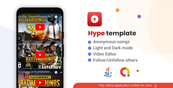 Hyper - Youtube Playlist Viewing Application + Admob [Android]