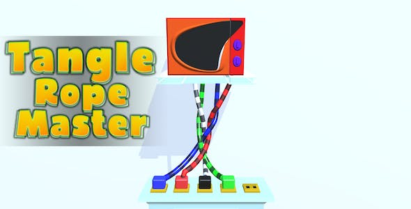 Tangle Rope Master 3D - Complete Unity Game