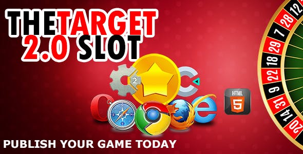 The target 2.0 Slot - | HTML5 Construct 2 and Construct 3