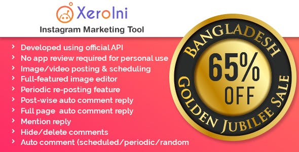 XeroIni - Instagram Post Scheduler & Marketing Tool