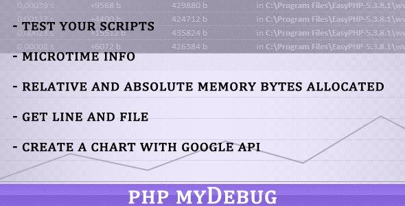 PHP My Debug - CodeCanyon Item for Sale