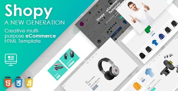 Shopy - Multipurpose HTML eCommerce Template - CodeCanyon Item for Sale
