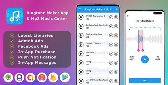Ringtone Maker App & Mp3 Music Cutter - Sound cutter - Mp3 cutter