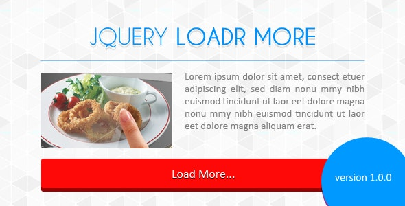 jQuery Loadr More - CodeCanyon Item for Sale