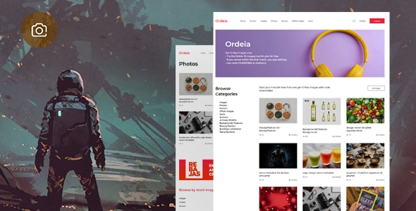 Ordeia – Photography and Blog / Photos Download script Theme - CodeCanyon Item for Sale