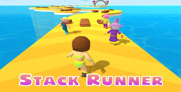Stack Runner Short Path Racing - Complete Unity Game